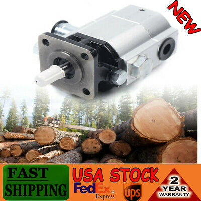 16gpm Hydraulic Log Splitter Pump 2stage Hi Lo Gear Pump 3000psi Logsplitter So