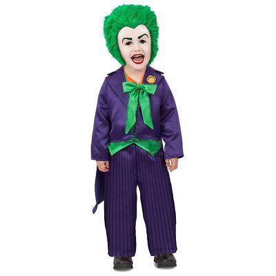 Toddler Joker Costume (Toddler The Joker DC Comics Costume size 6-12)