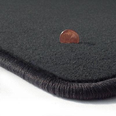 Velours Fußmatten dunkelgrau für MERCEDES SL R129 89-01 2-teilig