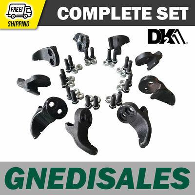 Dk2 Powerking Complete Set Stump Grinder Teeth Opg77769