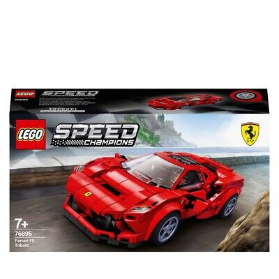 LEGO Speed Champions Ferrari F8 Tributo Car Set 76895 Age 5+ 275pcs