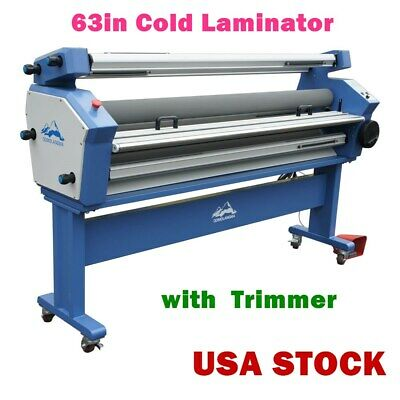 Usa 63 Full-auto Cold Laminator Wide Format Heat Assisted Lamination