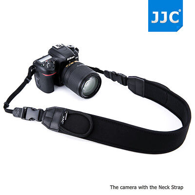 Nikon Wide Strap - JJC Wide Neoprene Neck Strap with Quick Release for Canon Nikon Sony DSLR Camera