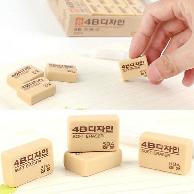 4b Pencil Eraser Art Sketch Painting Dedicated School Stationery Student Gifts