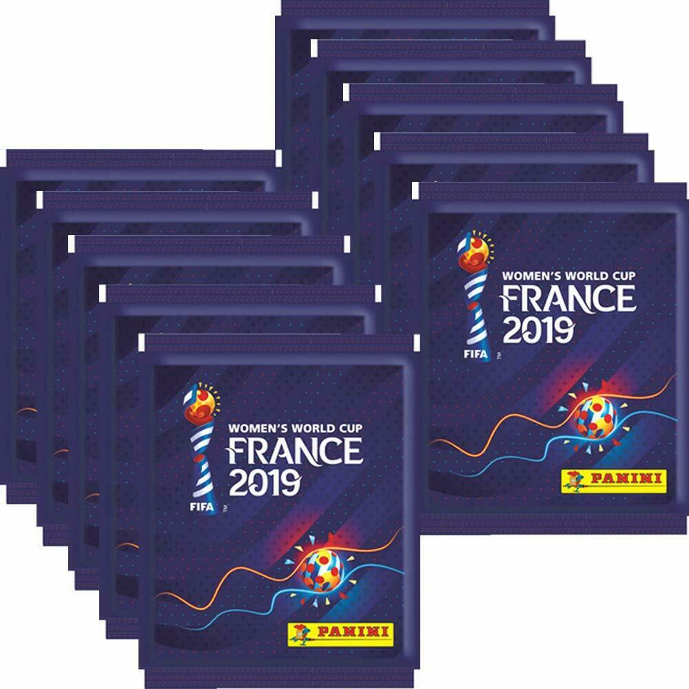 Panini Women´s World Cup 2019 France - 10 packs of stickers