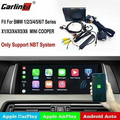 US Stock Wireless IOS CarPlay/Android Auto Retrofit Interface kit BMW NBT System