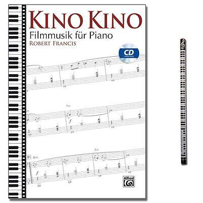 Kino Kino Filmmusik für Piano - mit CD,MusikBleistift - ALF2025G - 9783943638875