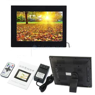 15 inch TFT Screen Digital Photo family Frame mediaPlayer + Remote Control Black