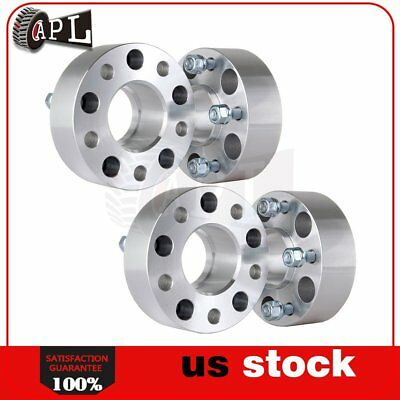 """4pcs 2"""" thick 5x4.75 wheel spacers for Chevy Corvette S10 Blazer GMC S15 Jimmy"""