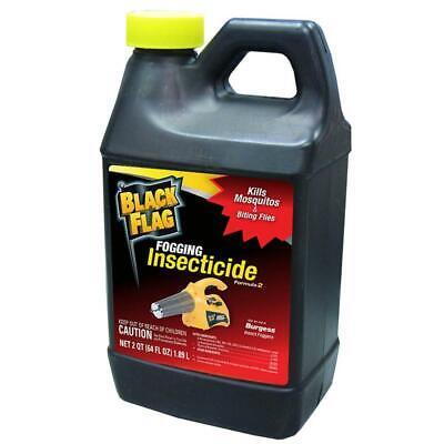 64 oz. fogging insecticide   black flag mosquito fogger outdoor fly killer pest