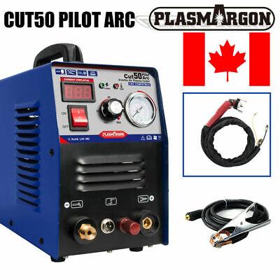 50a Plasma Cutter Pilot Arc Cnc Compatible Non-touch 34-inch Cut P80 Torch
