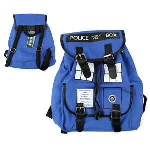 Doctor Who Tardis Buckle Slouch Bag Purse Dr Who Backpack UK
