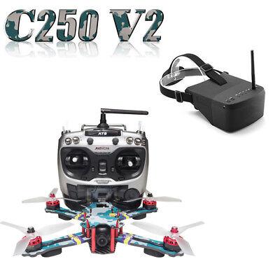 ARRIS C250 V2 250mm RC Quadcopter FPV Racing Drone RTF w/ ARRIS EV800 Goggle