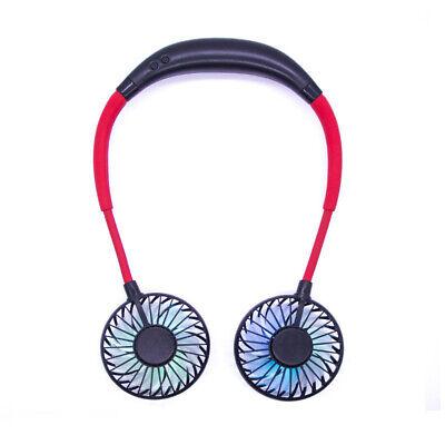 Mini Personal Fan Mini For Outdoor Headphone Design USB Rech