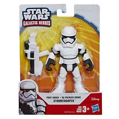 """Playskool Heroes Star Wars Galactic Heroes 5"""" First Order Stormtrooper Figure"""