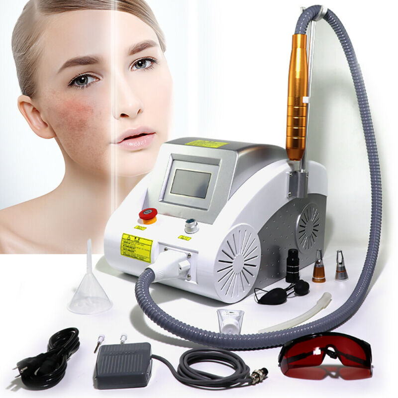 Nd YAG Laser Eyebrow Pigment Tattoo Removal Beauty Machine Beauty Salon Device