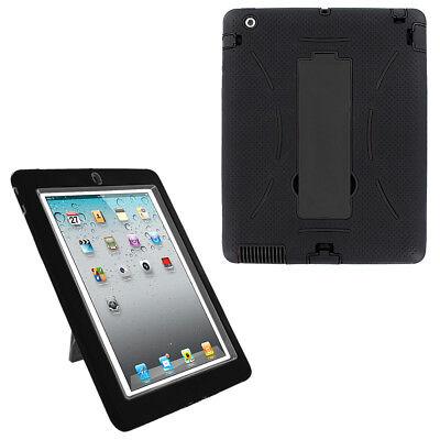 Heavy Duty Armor Rugged Skin Case For Apple ipad 2nd 3rd 4th Gen 2/3/4 9.7-inch