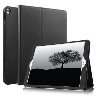 Für iPad Pro 12.9 Case Echt Ledertasche Smart Cover Leder Hülle aus echtem Leder