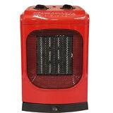 KUL 1500 Watt Red Ceramic Fan Heater - Model 369927