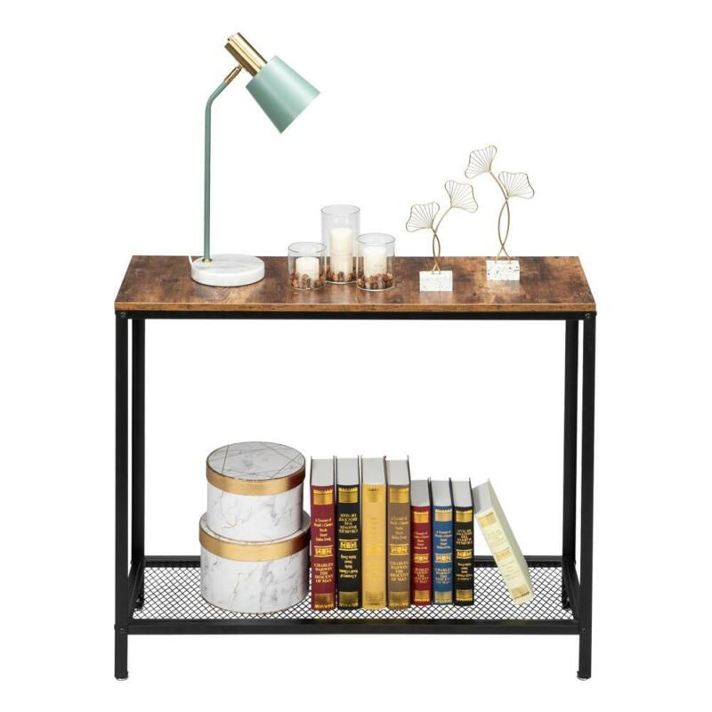 Modern Entryway Console Table Sofa Side Table w/Shelf for Entryway Living Room