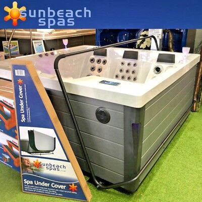 Hot Tub Spa Under Cover Lift - Rock It Style Lifter Assist Sunbeach Spas