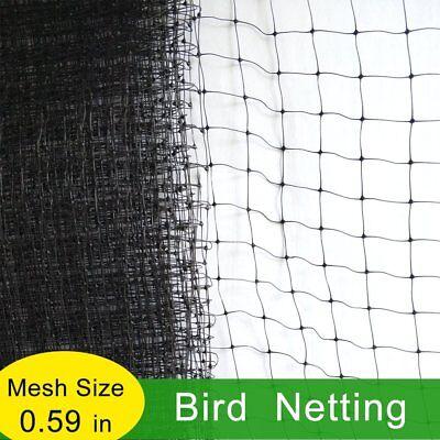 6.5'x25' Anti Bird Netting Net Garden Vegatable Poultry Aviary Game Pen