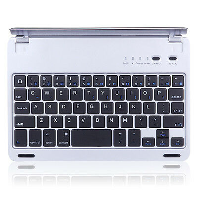Bluetooth Keyboard for Apple iPad Mini 1/2/3 With Cover Case Magnetic Aluminum