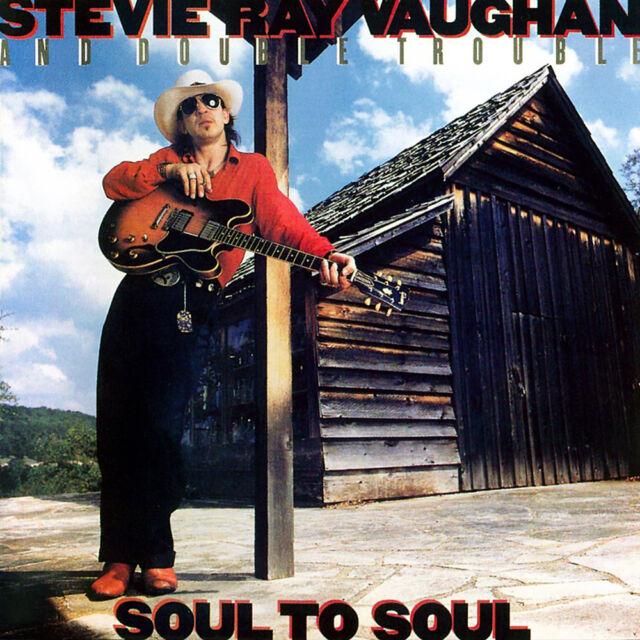 Stevie Ray Vaughan - Soul To Soul 180g vinyl LP NEW/SEALED