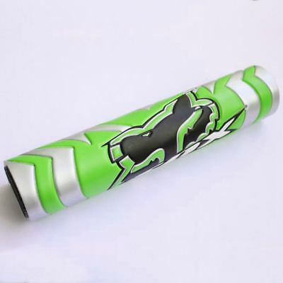 New Green Deluxe Colloidal Foam Crossbar Protection Pad w/ Black Logo 9.44in