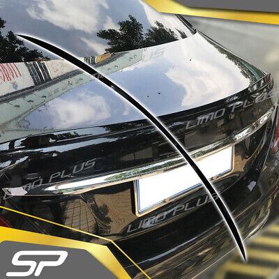 Schwarz Lackierte Spoiler Lippe Heck Flügel für Mercedes Benz E W213 200 250