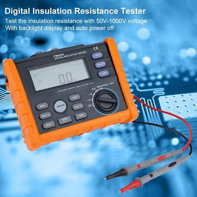 Pm5203 Digital Analog 50-1000v Insulation Resistance Tester Megger Meter
