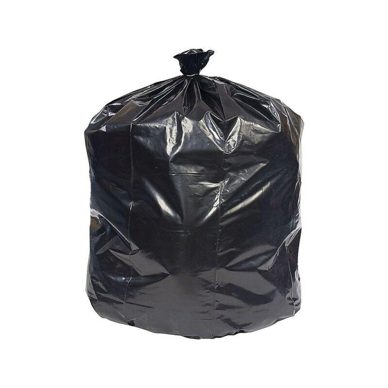 Brighton Trash Bags 20-30 Gallon 30x36 Low Density 0.45 Mil Black 250 CT 814875
