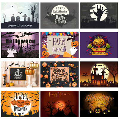 Horrible Halloween Backdrop Pumpkin Lamp Theme Party Photography Background Prop](Desktop Backgrounds Halloween Theme)