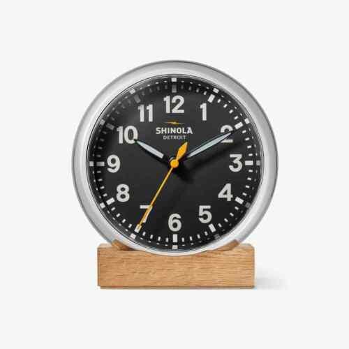 Shinola - RUNWELL DESK CLOCK - new/unopened