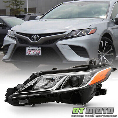 For 2018-2019 Toyota Camry L LE SE LED Projector Headlight Headlamp Driver Side