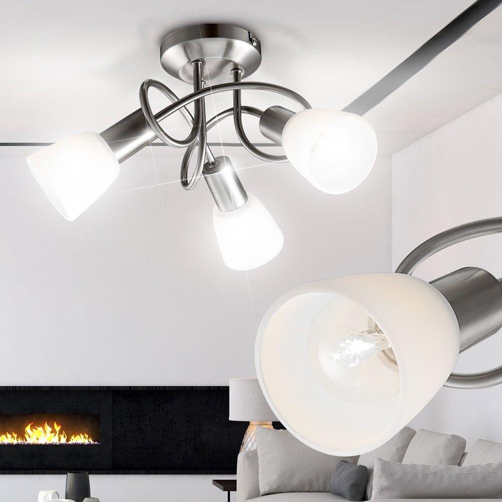 Design 3er Decken Leuchte Schlaf Zimmer Beleuchtung Flur Bad Küchen ...