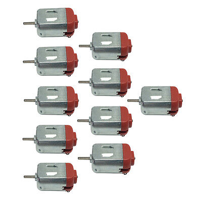 130 Micro Motor Dc 3-12v Ultra High Speed Diy Hobby Toy Car Motor 10pcs