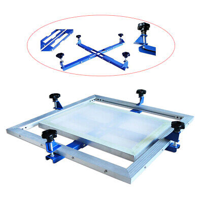 24x 24 High Precise Manual Screen Stretching Machine Screen Printing Stretcher