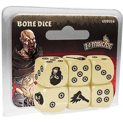 Zombicide: Black Plague  Bone  Dice Board Game COL GUF024