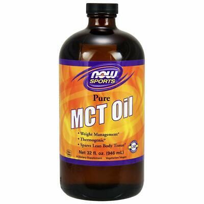 NOW  MCT 100% Oil, 32-Ounce