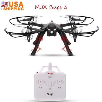 MJX Bugs 3 2.4G Brushless Motor ESC Drone Quadcopter Black used open box item
