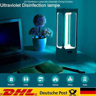 12W UVC Ozon Sterilisation Lampe UV-keimtötende Desinfektions Geruchsentfernung