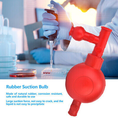 Laboratory Rubber Suction Bulb Pipette Filler Ball Chemistry Equipment W3valves