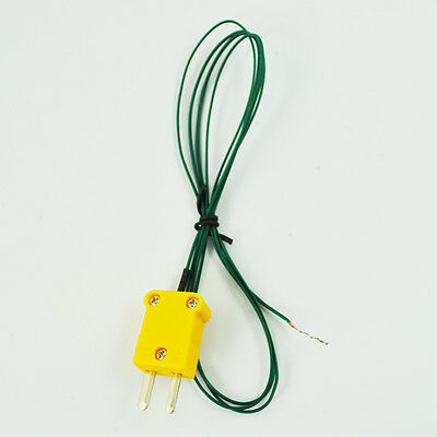 Type K Thermocouple Wire Lead For Digital Thermometer Ts