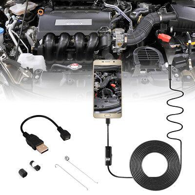 5m Semi-rigid Endoscope 6led Borescope Inspection Camera For Smart Phone Bi746