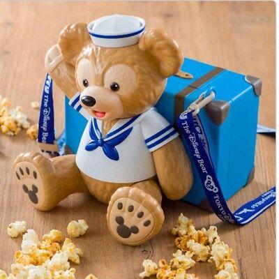 Tokyo Disney Sea Ltd Duffy Popcorn Bucket Cape Cod Suitcase Marine Container