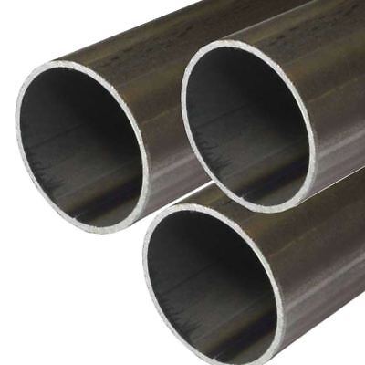 E.r.w. Steel Round Tube 1.000 1 Inch Od 0.065 Inch Wall 48 Inches 3 Pack
