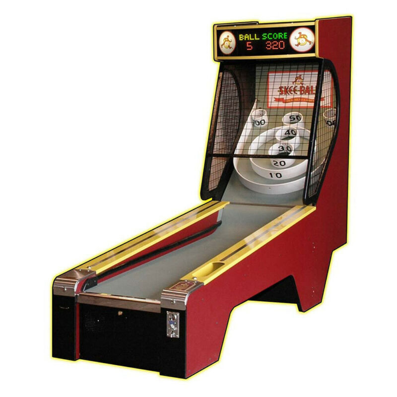 Skee Ball Classic Alley 10