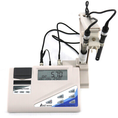 Az86555 Bench Top Water Quality Meter With Printer Phorpcond.tdssalinity