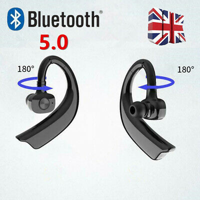 For HUAWEI Samsung Wireless Bluetooth 5.0 Headset Earpiece Hands Free Earphone